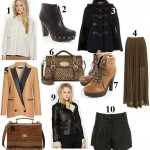 10 Hottest items this week: AW10 must-haves