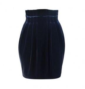 Jaeger Velvet mini skirt