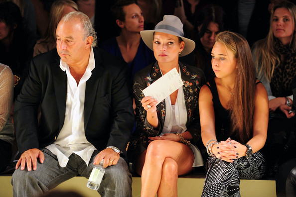 Kate Moss to collaborate with Sir Philip Green's daughter?