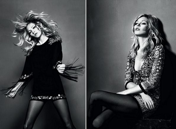 Kate Moss's last collection for Topshop