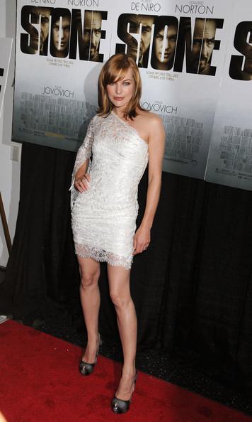 Milla Jovovich in Pucci