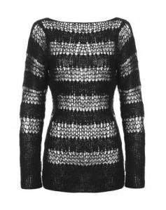Mohair stripe jumper