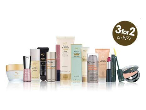 Save £5 on No7 when you spend £15!