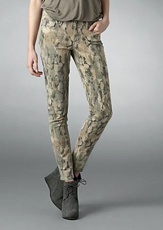 Lunchtime buy: Paige Denim camouflage verdugo jeggings