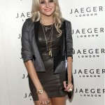 Get the look: Pixie Lott in Boutique by Jaeger