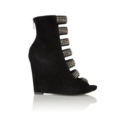 Party shoes under £250: Sam Edelman Torin studded suede wedge