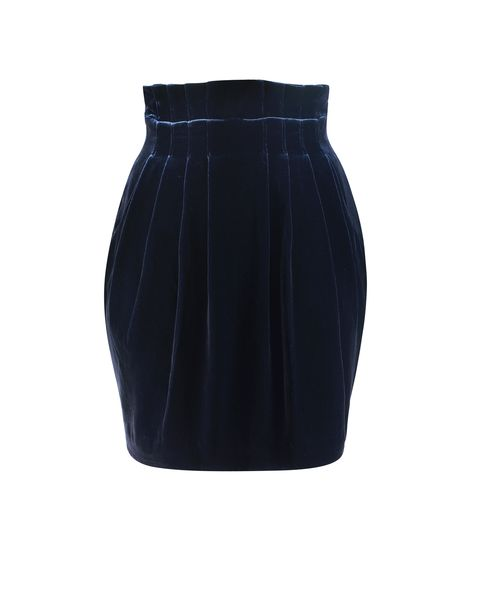 Lunchtime buy: Jaeger velvet mini skirt