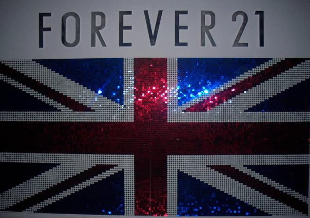Forever 21′s UK launch