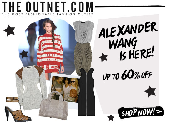 Up to 60% off Alexander Wang!