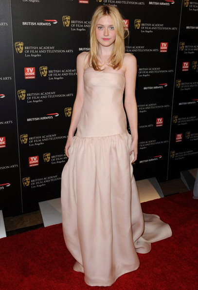 Dakota Fanning in Valentino