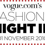 AlexandAlexa joins Fashion's Night In!