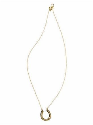 Gifts under £100 for her: House of Harlow horseshoe necklace