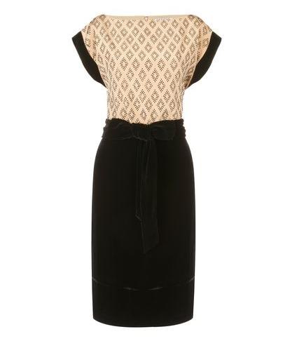 Party dresses over £250: Jaeger silk and velvet bead dress