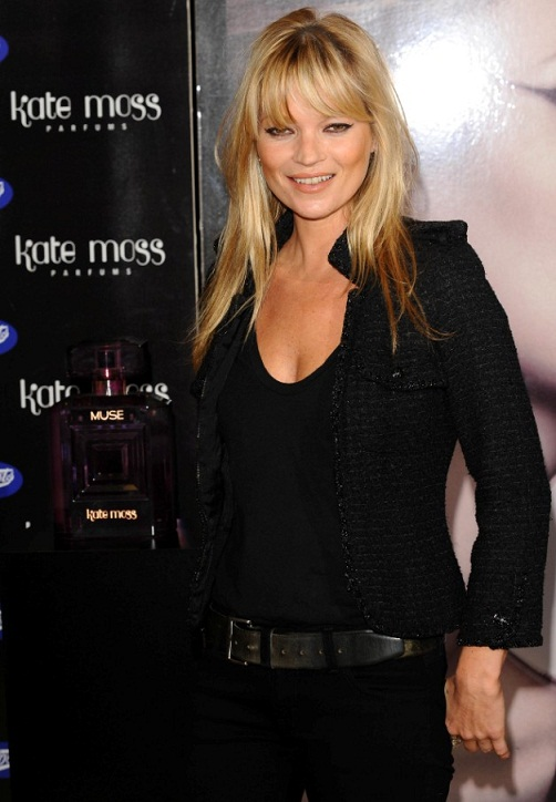 Kate Moss signs new fragrance at Boots