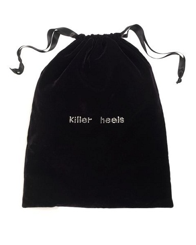 Gifts under £50 for her: Jaeger velvet shoe bag