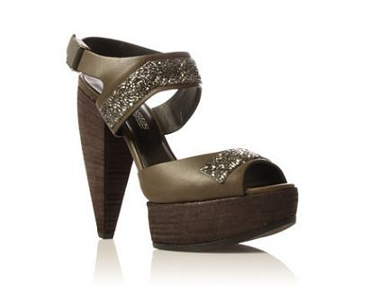 Party shoes over £250: Kurt Geiger St Honore wedges