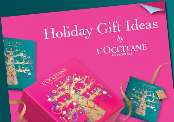 Thanksgiving offers with L'Occitane
