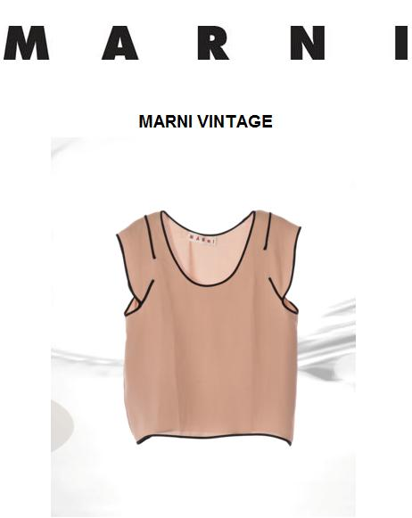 Marni relaunches vintage pieces