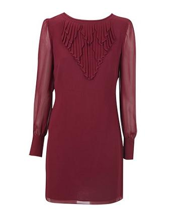 Party dresses under £100: Oasis pleat neck shift