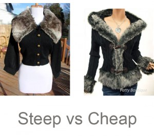 Steep.vs.cheap.fur.jacket