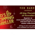 Ted Baker's Shopping Thriller