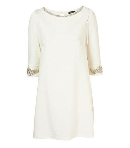 Party dresses under £100: Topshop diamante trim shift