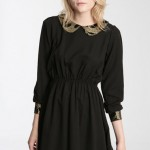 Party dresses under £100: O&O jacquard collar dress