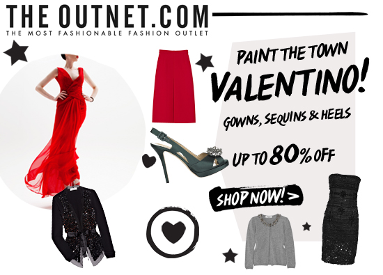 Up to 80% off Valentino!