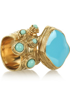 Luxury gifts for her: YSL Arty enamel ring