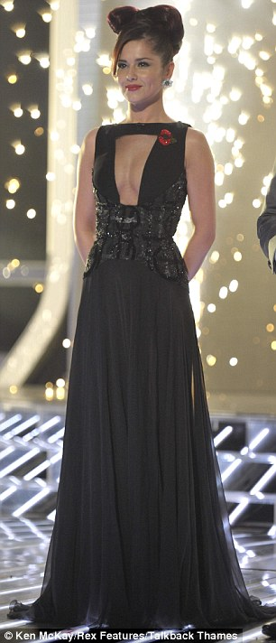 Cheryl Cole in Georges Chakra