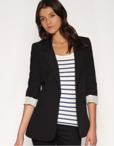 edit ASOS boyfriend blazer for sienna