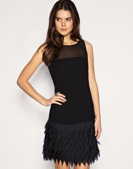 Party dresses under £100: Oasis laser cut shift dress