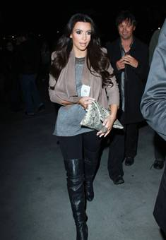 Kim Kardashian in Juliette Jake