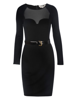 Party dresses over £250: Sportmax belted dress