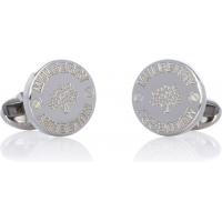 Gifts under £100 for him: Mulberry silver cufflinks