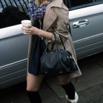 Pixie Lott in Boutique by Jaeger