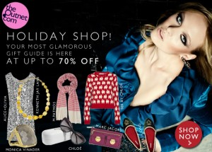 theOutnet holiday shop