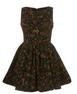 Topshop motiff dress