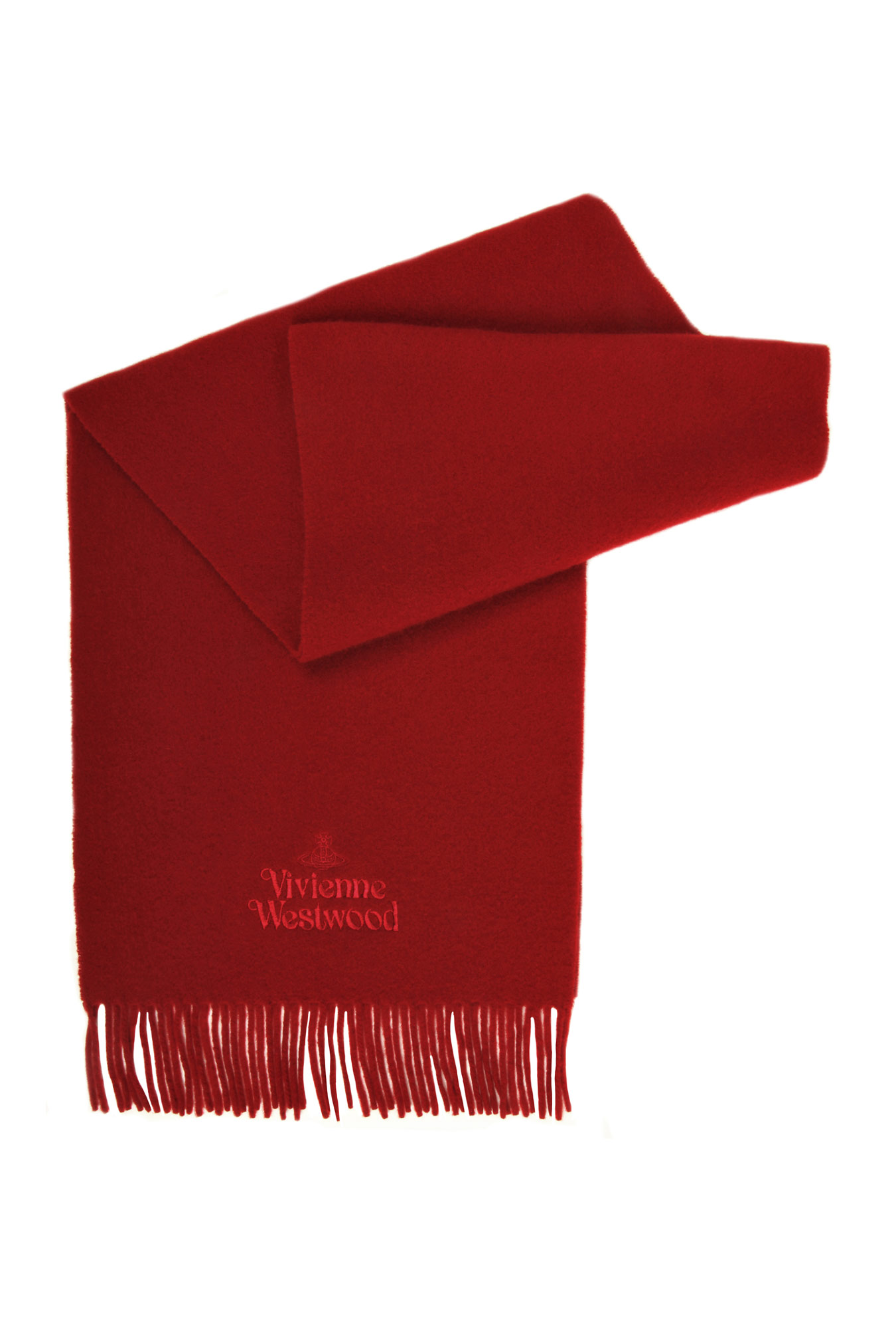 Gifts under £50 for him: Vivienne Westwood red scarf