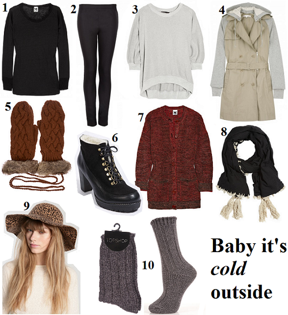 10 Hottest items this week: winter warmers