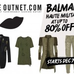 Up to 80% off Balmain