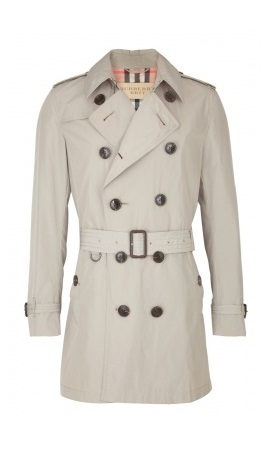 Luxury gifts for him: Burberry packable trench