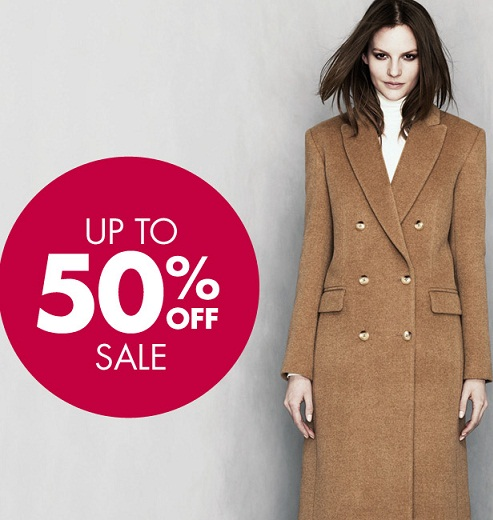Up to 50% off at Jaeger!