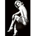 First look: January Jones for Versace
