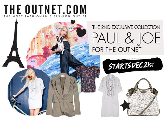 Paul & Joe for theOutnet is here!