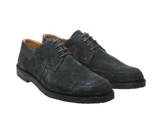 Luxury gifts for him: Adam Kimmel navy suede shoes