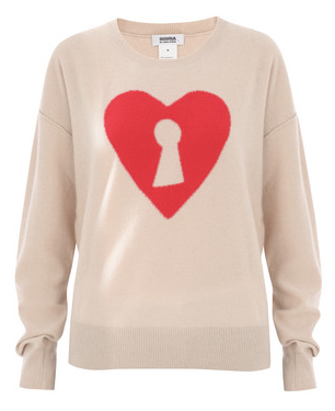 Last minute gifts for her: Sonia by Sonia Rykiel heart sweater