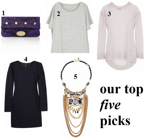 Top 5 picks from the my-wardrobe sale
