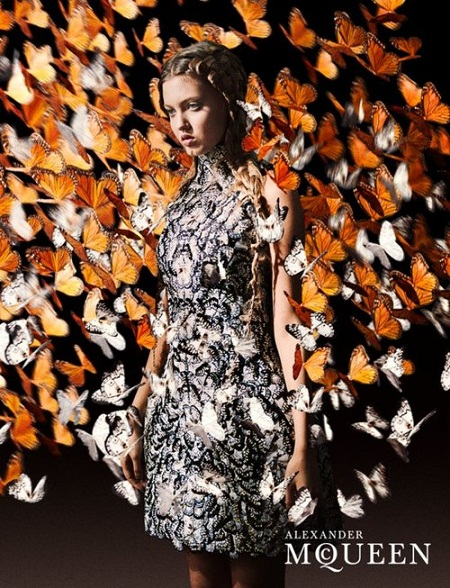 Lindsey Wixson's the new face of McQueen
