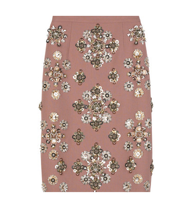 Lunchtime buy: Miu Miu embellished skirt